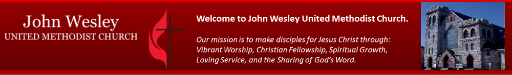John Wesley United Methodist Church: Hagerstown, MD