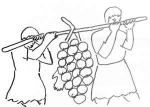 Joshua 12 spies coloring pages coloring pages for Twelve spies coloring page